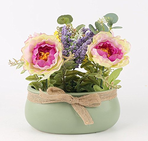 SituMi-Artificial-Fake-Flowers-Creative-Potted-Plants-Minimalist-Silk-Flower-Home-Decoration-Purple-Daisy-Chained