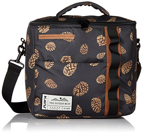 KAVU Snack Sack Insulated Bags - Pine Cones - One Size