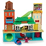 Teenage Mutant Ninja Turtles Pre-Cool Half Shell Heroes Sewer Lair Playset with Michelangelo and Splinter Figures thumbnail