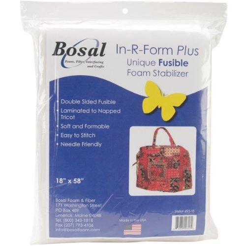 Bosal In-R-Form Plus Unique Fusible Foam Stabilizer-18 inch x 58 inch by Bosal