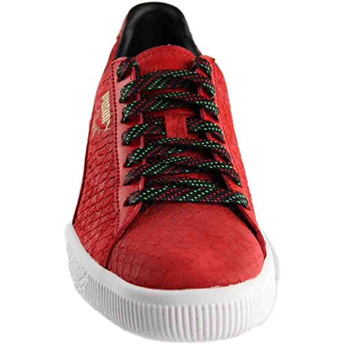 Risk Sneaker Black PUMA Mens Clyde GCC PUMA Mens Red q7BCw