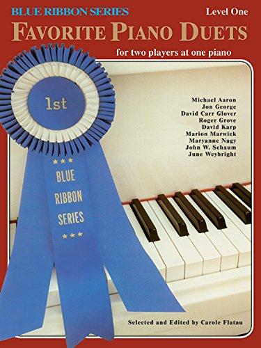 Blue Ribbon Series - Blue Ribbon Favorite Piano Duets, Vol 1: Level 1 (The Blue Ribbon Series)