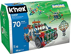 K'NEX 70 Model Building Set – 705 Pieces – Ages 7+ Engineering Education Toy