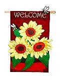 Cheap Flag, Reg, Sunflower Welcome