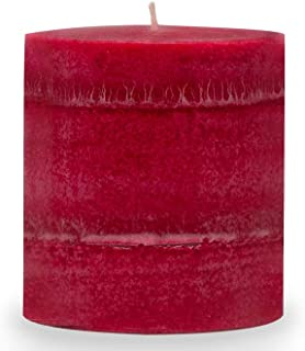 product image for Wicks n More Red Hot Cinnamon Scented Candles, 3X3 Pillar