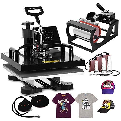 Bestequip Heat Press Machine 8 In 1 Digital Transfer