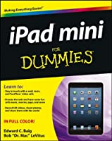 iPad mini For Dummies Front Cover