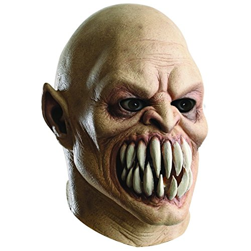 [Baraka Overhead Mask Costume Mask Adult Mortal Kombat Halloween] (Halloween Costume Ideas 2016 Men)