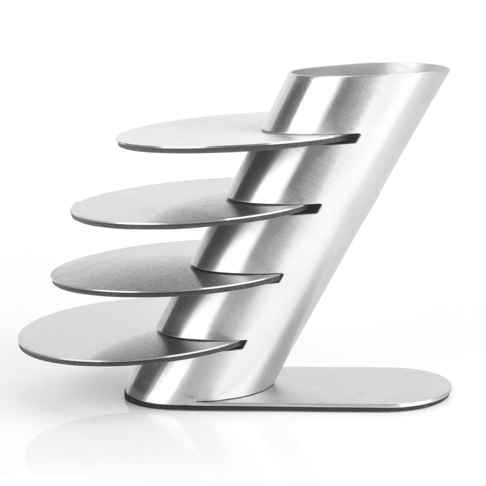 Creative Stainless Steel Coasters Bowls Mat Insulation Pad Square Metal Pad Fashion Coasters