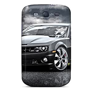 JacquieWasylnuk Samsung Galaxy S3 Protective Cell-phone Hard Cover Allow Personal Design High-definition Chevrolet Camaro Ss Pictures [IvM14625NSow]