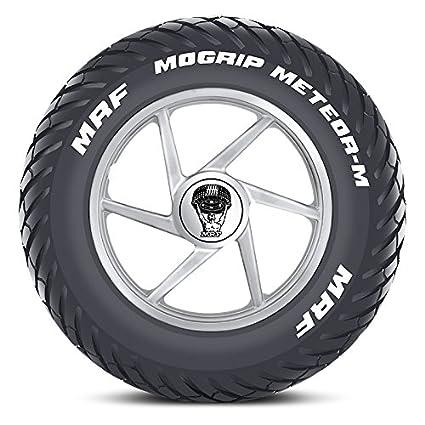 mrf mogrip meteor m 120 80 17 61p tubeless bike tyre rear amazon in rh amazon in