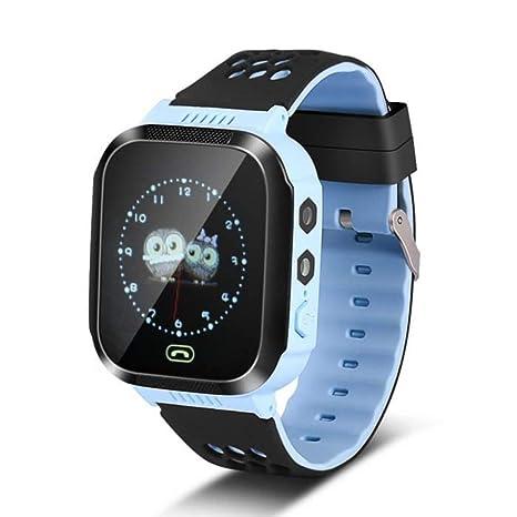 Schimer Niños SmartWatch Teléfono Smartwatches con SOS Chat ...