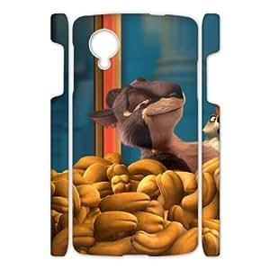 Printed Phone Case The Nut Job For Google Nexus 5 NC1Q01899