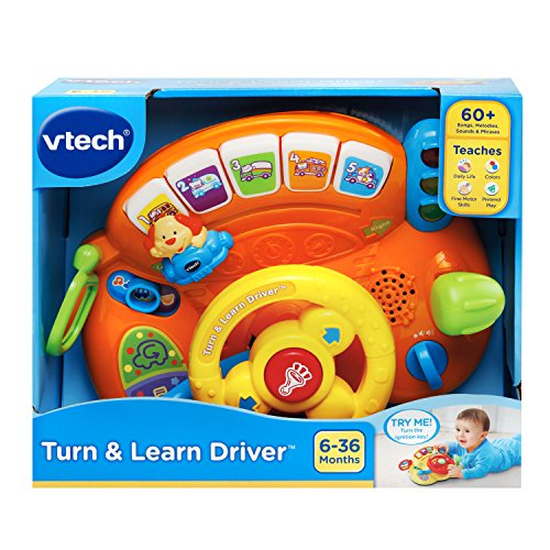51BVNhXwCfL - VTech Turn and Learn Driver Amazon Exclusive