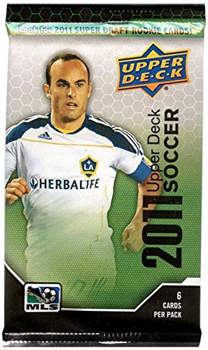 Upper Deck MLS 2011 Soccer RETAIL PACK [6 ()