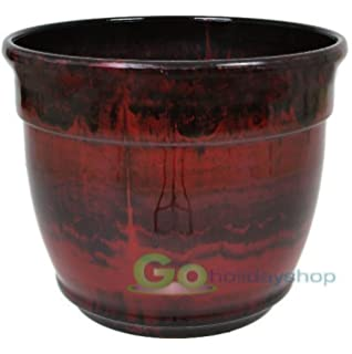 Giant Garden Pots Stone garden planter large garden planter giant garden planter anglo eastern 33cmtrading xdl 0876rr ardente planter ruby red workwithnaturefo