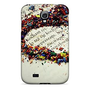 High Quality Love_colors_of Case For Galaxy S4 / Perfect Case
