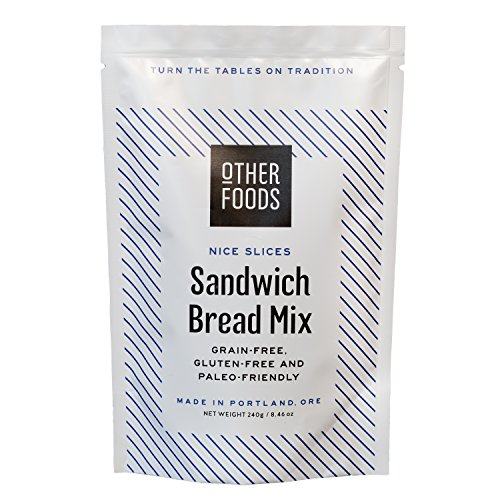 French Bread Free Gluten (Gluten-Free Sandwich Bread Mix - Easy Bake, Grain-Free, Dairy-Free, Paleo Friendly Baking Mix by Other Foods)