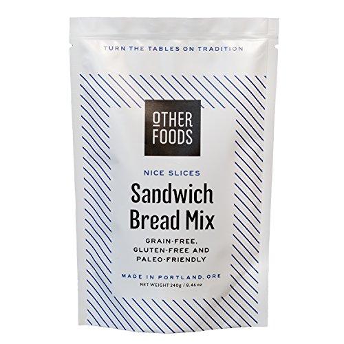 Gluten-Free Sandwich Bread Mix - Easy Bake, Grain-Free, Dairy-Free, Paleo Friendly Baking Mix by Other (Dairy Food)