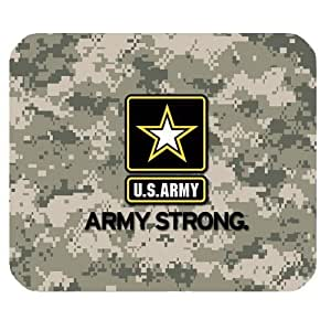 US Army Military Army Strong Personalized Rectangle Mouse Pad