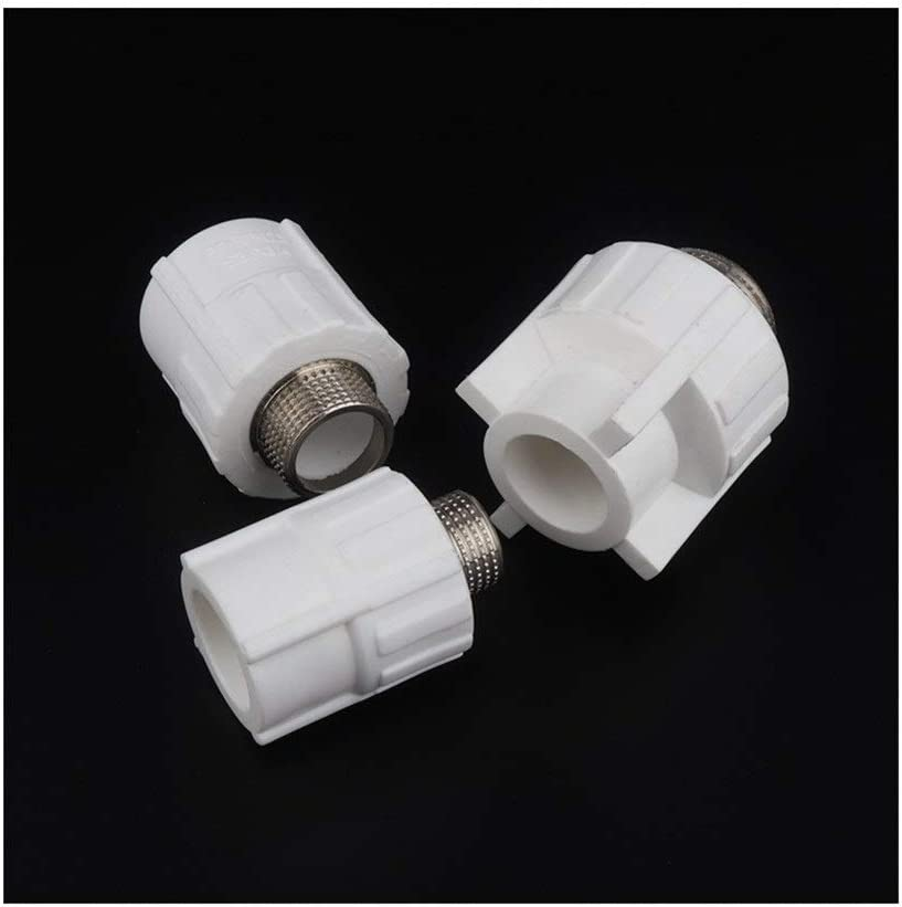 10pcs PPR Male 1//2 3//4 1 Thread to 20mm 25mm 32mm Connector Water Pipe Plumbing Fittings Heat Melt PPR Water Pipe Adapter Color : White, Diameter : 32mm 1l2 inch