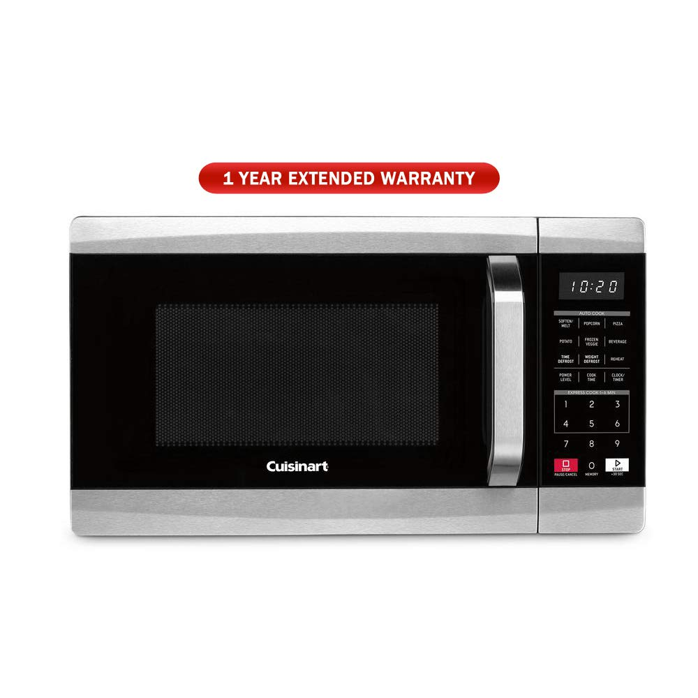 Cuisinart 700 Watt 0.7 Cubic Foot Microwave Oven (CMW-70) with 1 Year Extended Warranty