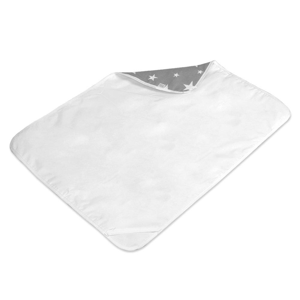 wasserdicht waschbar wiederverwendbare Windel Matte Letech/® Wickelunterlage f/ür Babys und Kleinkinder M 50*70cm