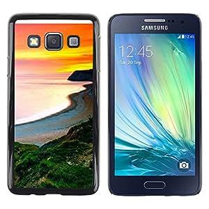 Be Good Phone Accessory // Dura Cáscara cubierta Protectora Caso Carcasa Funda de Protección para Samsung Galaxy A3 SM-A300 // Sunset Beautiful Nature 105