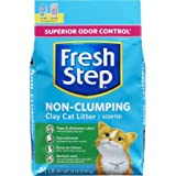 Fresh Step Non Clumping Clay Cat Litter, Scented, 14 lbs - 1 Pack