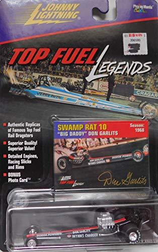 (Top Fuel Dragster Big Daddy Don Garlits (Swamp Rat #10) NHRA 1979 Top Fuel Legends Series by Johnny Lightning)