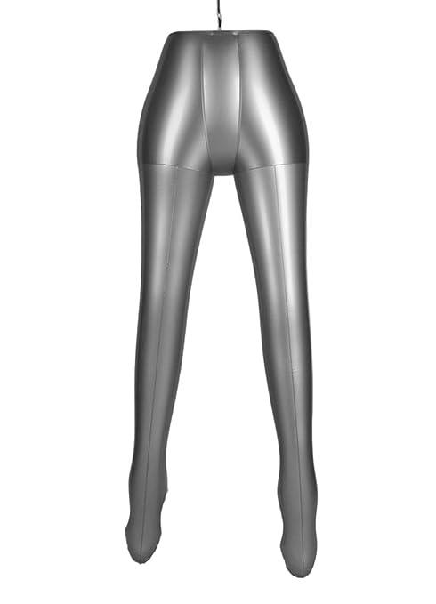 Vestido hinchable para mujer con patas de media carrocería y ...