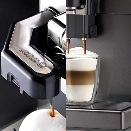 Saeco 10004768 Lirika Espresso Maschine, 1850 W, 2 liters, Schwarz