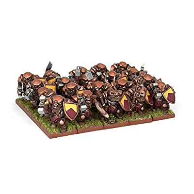Kings of War: Dwarf Ironclad Regiment (20) from Mantic Entertainment