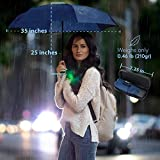 Travel Umbrella with Waterproof Case - Small and