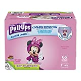 32 cool underwear - Pull-Ups Cool & Learn Potty Training Pants for Girls, 3T-4T (32-40 lb.), 66 Ct. (Packaging May Vary)