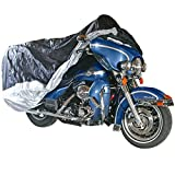 Black Widow Rage Powersports DMC-XL Extra Large Deluxe Cruiser and Touring Motorcycle Cover
