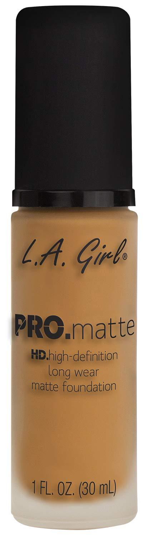 L.A. Girl Pro Matte Foundation, Golden Bronze, 1 fl. oz.