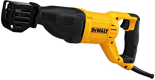 DEWALT Reciprocating Saw, Corded, 12-Amp DWE305