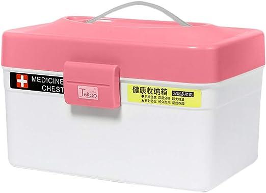 SXZHSM Caja de Pastillas Caja de Almacenamiento de medicamentos PP ...