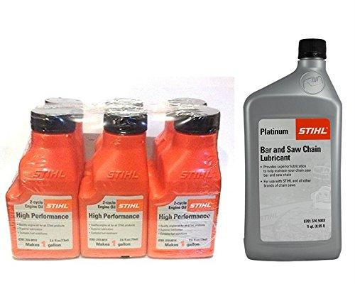 STIHL MS 271 FARM BOSS Chainsaw Oil Mix and Bar Lubricant Bundle