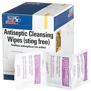 Amazon Com First Aid Only Antiseptic Cleansing Wipe
