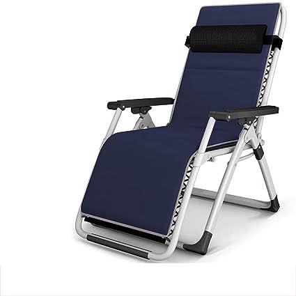 Folding chair QFF@ SillóN Reclinable Plegable Descanso para ...