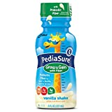 PediaSure Grow & Gain Nutrition Shake with Fiber For Kids, Vanilla, 8 fl oz, 24 Count