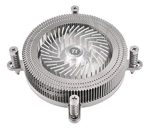 Thermaltake Engine 27 1U Low-Profile 70W Intel 60mm Low Noise PWM Fan Forty Fan Blade CPU Cooler CL-P032-CA06SL-A (Best Htpc Cpu Cooler)