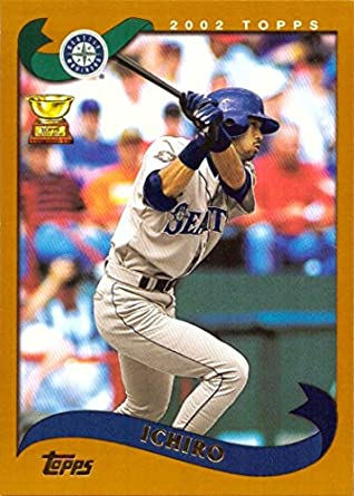 Amazoncom 2002 Topps 225 Ichiro Suzuki Baseball Card