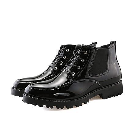 Dundun-boots 2018 Botas New Coming, Clásico de los Hombres con Cordones con Suela