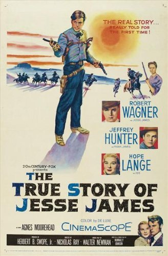 The True Story of Jesse James POSTER Movie (27 x 40 Inches - 69cm x 102cm) (1957)