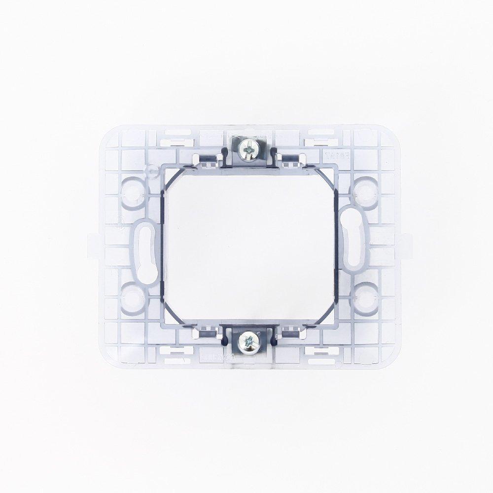 Bticino - Embellecedor de interruptor 500SM2 Matix 2P caja redonda: Amazon.es: Bricolaje y herramientas