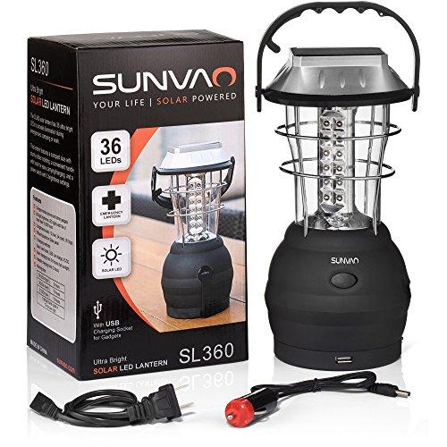 Solar Lantern Hand Crank Port product image