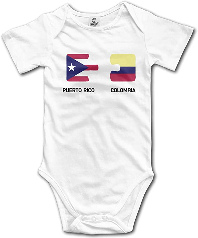 Puerto Rico Its in My DNA Infant Girls Boys Sleep and Play Romper Jumpsuit Bodysuit